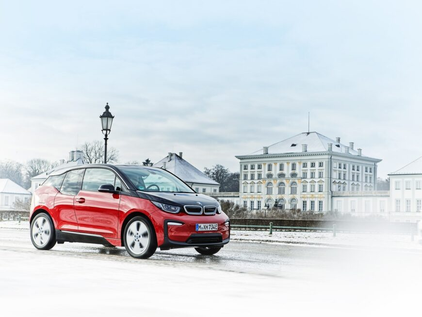 Sdílené BMW pro nájemce kancelářské budovy Envelopa Office Center v Olomouci